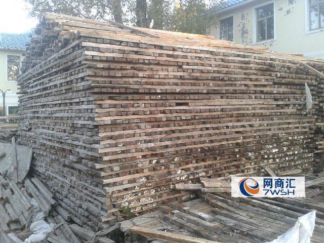 回收木材 木方模板 钢材 废旧机械 库房积压物品