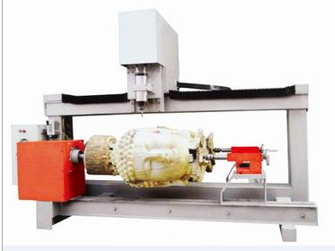 【双头三维立体木工雕刻机】-济南亚卓数控机械有限