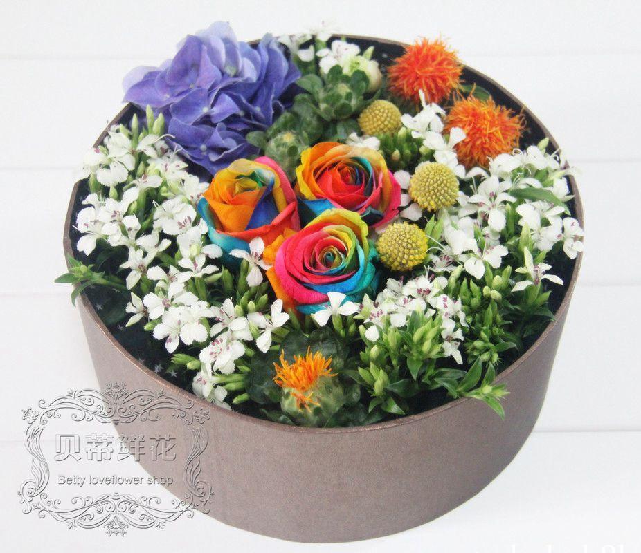 【玫瑰花礼盒】-纯手工制作的玫瑰花礼盒15926083097