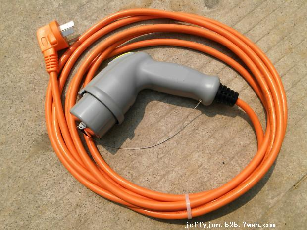 提供国标32a家用电动汽车交流充电枪线